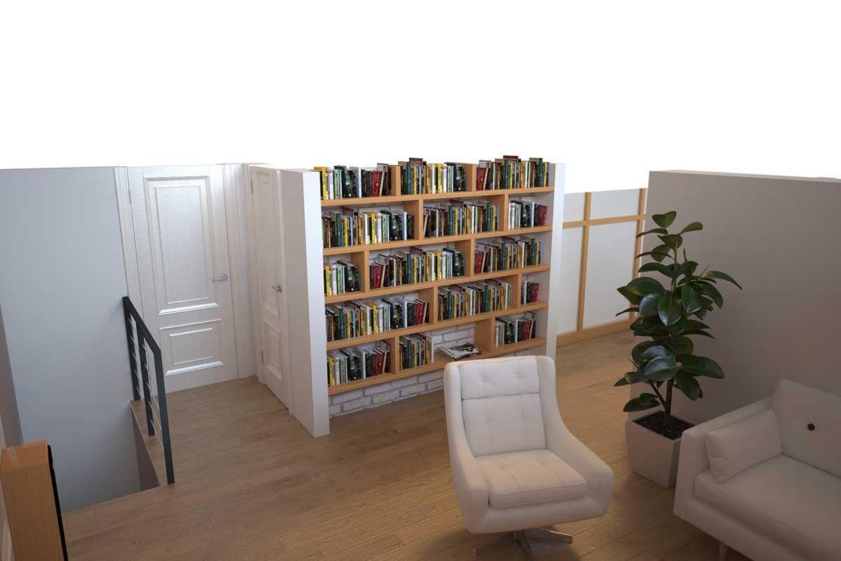 Projekt interijera uredjenje doma u skandinavskom stilu-dizaj prostora – Diza...