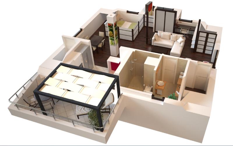 3-dizajn-interijera-uredjenje-doma-u-japanskom-stilu-projekt-interijera-02-uredjenje interijera potkrovlja